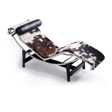 le corbusier lc4 chaise longue style lounge cassina ambientedirect