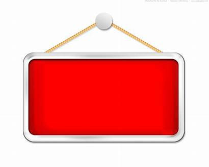 Sign Hanging Blank Template Clipart Board Psd