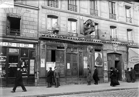 bureau de poste à laval cabaret bruant 84 boulevard de rochechouart 1909 le 84