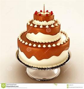 Yummy Chocolate Cake Stock Photos - Image: 24852413