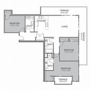 Apartment, Floor, Plan, Cc