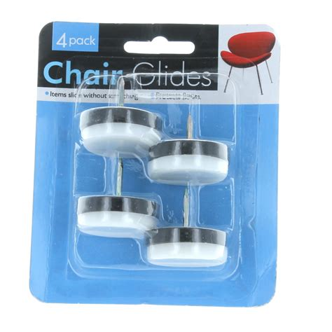 Best Chair Glides For Hardwood Floors by 24 Nail On Chair Glides 1 Quot Heavy Bottom Protect Tile