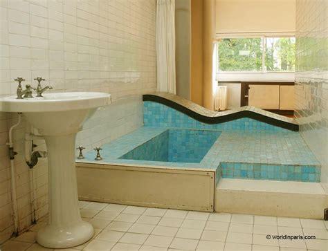 bathroom designs images villa savoye le corbusier the icon of modern