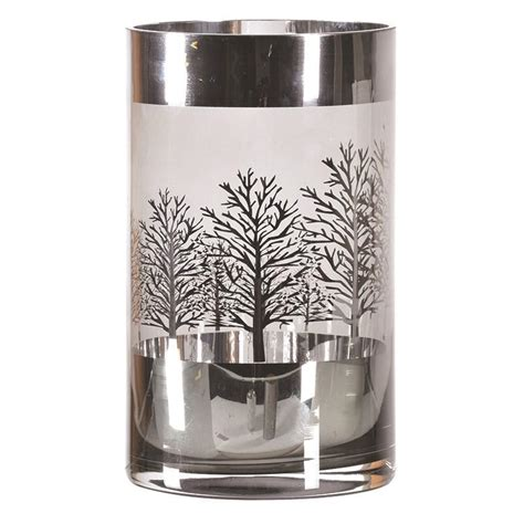 silver hurricane candle holders large silver trees hurricane candle holder mulberry moon