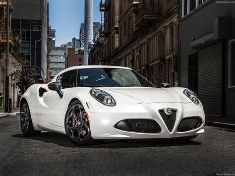 Alfa Romeo Usa 4c by 2015 Alfa Romeo 4c Coupe Us Version White Superb Cars