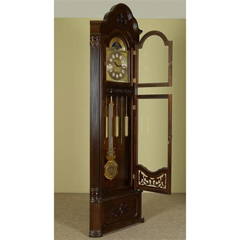corner grandfather clock longcase pendulum livetimepl