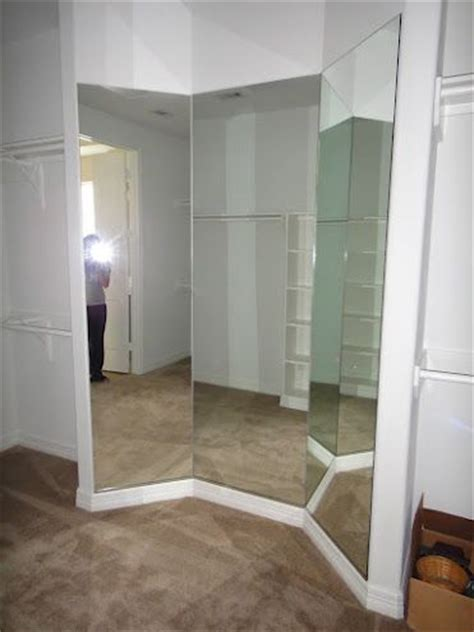 closet mirror walk in closet