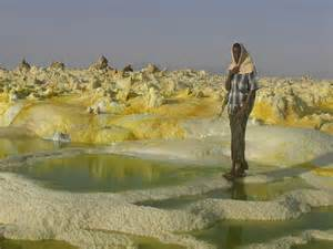 The Crater of Dallol Volcano Ethiopia