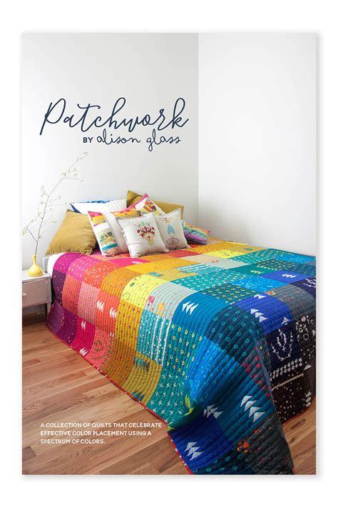 patchwork quilt pattern alison glass
