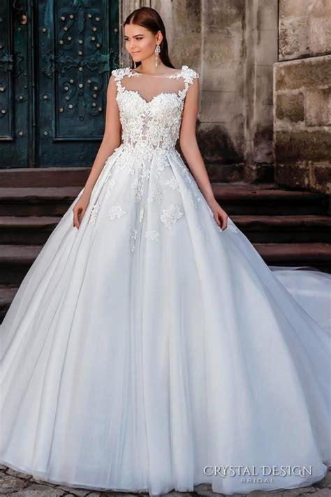 crystal design  wedding dresses fairytale ball gowns