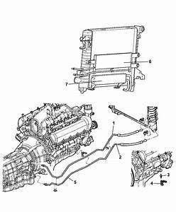 Transmission Oil Cooler  U0026 Lines For 2007 Dodge Ram 3500 Pickup