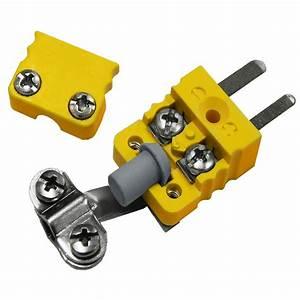 Mini Male Plug Thermocouple Connector