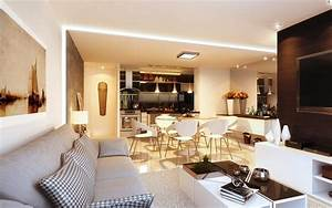 Open Concept Luxury Modern Living Room Furniture : Luxury