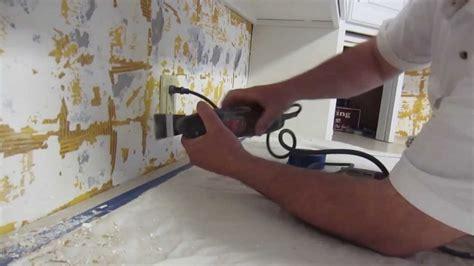 Install Glass Mosaic Tile Backsplash Part