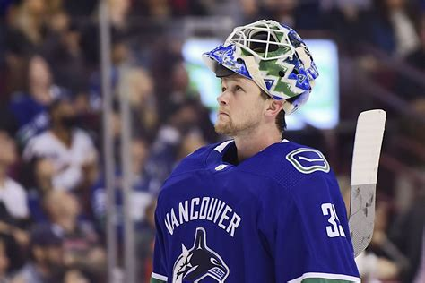 """Seemingly lost in the shuffle has been the senator's. Trade of Anders Nilsson signals """"Demko Time"""" in Vancouver ..."""