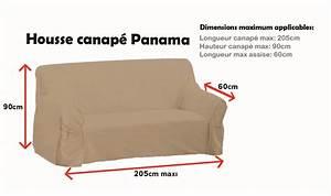 Housse Assise Canapé : housse de canap panama beige vente de soleil d 39 ocre conforama ~ Melissatoandfro.com Idées de Décoration