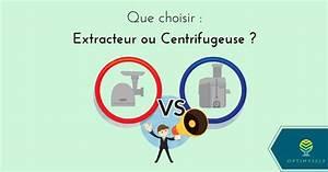 Différence Entre Extracteur De Jus Et Centrifugeuse : que choisir extracteur de jus ou centrifugeuse ~ Nature-et-papiers.com Idées de Décoration