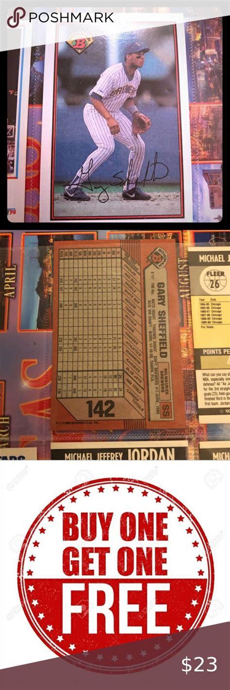 mlb gary sheffield  baseball card  bowman