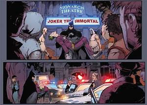 Batman Arkham Knight #1 – Batman recovers Jokers body.