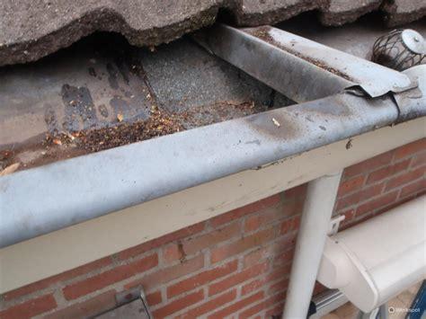 lekke dakgoot repareren repareren dakgoot werkspot