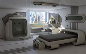 sci fi bedroom - Google Search Reference for My Room