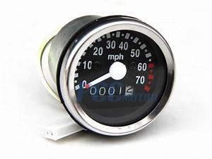 Chrome Honda Z50 Monkey Bike Speedometer Z50j Z50r Sd03