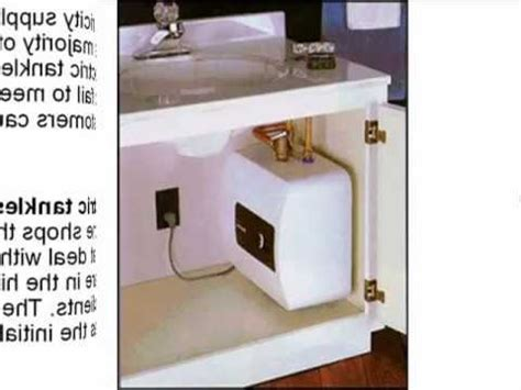drawbacks  electric tankless water heaters youtube