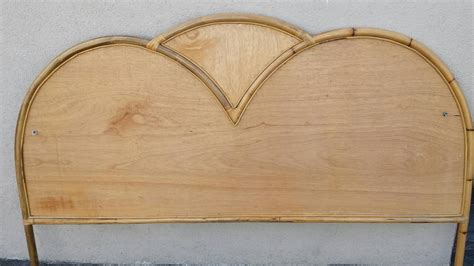 bamboo headboard cal king mid century bamboo headboard or california king size