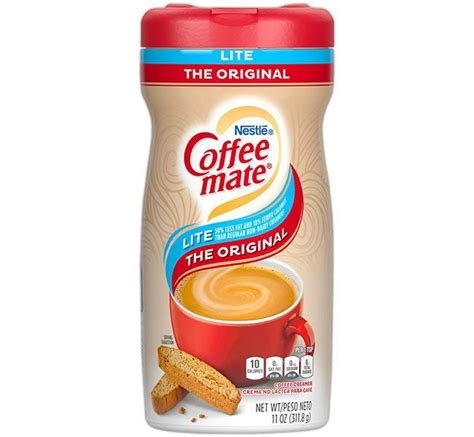 Nestle coffee mate original coffee creamers add a rich, velvety smooth, classic creamer flavor to your cup of coffee. Nestle Coffee-mate LITE Original Non-Dairy Powdered Creamer Canisters | DiscountCoffee.com