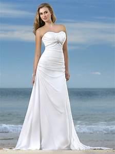 beautiful beach wedding dresses white ideal weddings With white dress for beach wedding guest