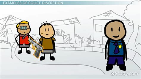 police discretion definition examples pros cons