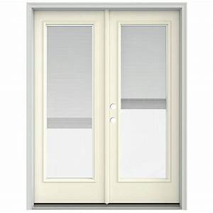 jeld wen 60 in x 80 in french vanilla prehung right hand With 60x80 french doors