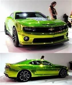 2013 chevy Camaro in Neon green Cars Pinterest