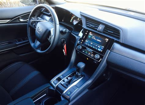 honda civic 2017 interior 2017 honda civic hatchback lx review nice personality