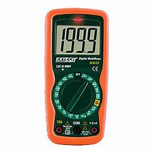 Extech Mn42 Manual Ranging Digital Multimeter  600vac  Dc