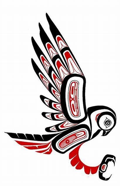 Native Owl American Totem Haida Indian Animal