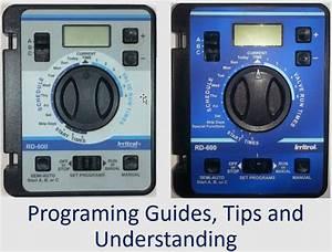 Rd600  Rd900  Rd1200 Irritrol Raindial Manuals And