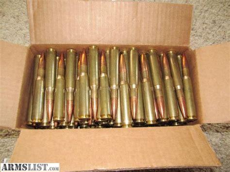 For Sale: Surplus .50 Bmg Ammo Brass Cass Boxer