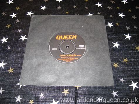 Queen Singles Love Of My Life