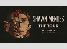 Shawn Mendes The Tour Rogers Arena