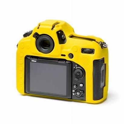 D850 Nikon Silicone Easycover Custodia Giallo Morbido