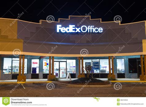 bureau fedex fedex office editorial stock image image 38410394