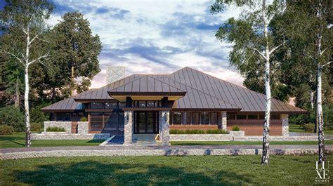 prairie home designs chic modern prairie style house plans house style design