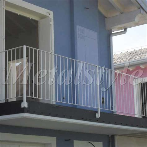 ringhiera balconi balcone parapetti 45 metalstyle
