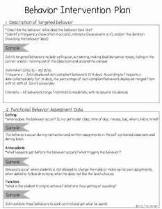 Creating A Behavior Intervention Plan  Bip