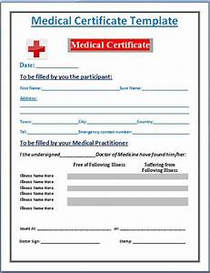 Sample of medical certificate from doctor search results for Dr certificate template