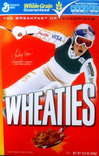 vails lindsey vonn graces wheaties box vaildailycom