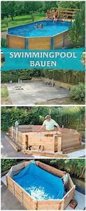 die 25 besten ideen zu pool selber bauen auf pinterest With französischer balkon mit schwimmbad im garten selber bauen