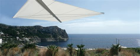 alternative zum sonnenschirm automatische segelschirme 183 arabella boom voit aufrollbare sonnensegel raumgestaltung