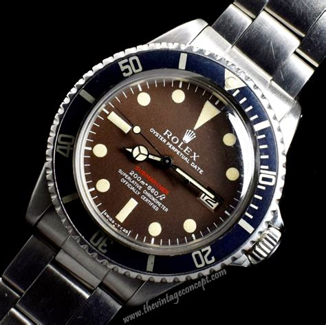 Rolex Submariner Single Red 1680 ( with box & paper ...